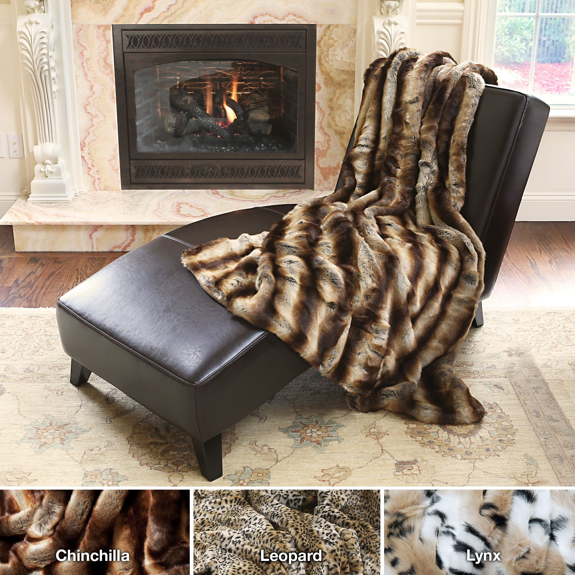 Sofa BedSleeper Sofa Stay toasty warm with these cozy oversized faux fur throws Available in three chic animal