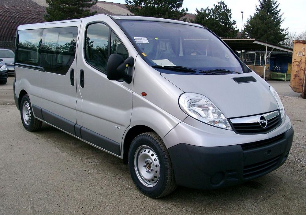 Opel Vivaro Front 20080108 List Of Opel Vehicles Wikipedia