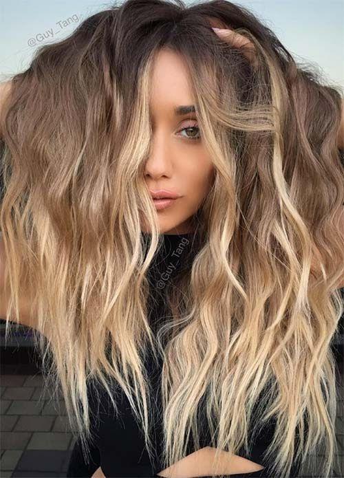 Épinglé par dalhia nazarov sur Coiffures Couleur cheveux