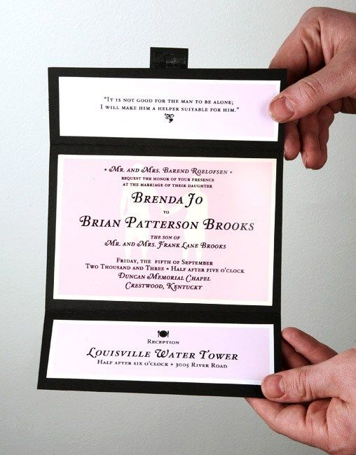 Simple Wedding Invitation Ideas Wedding Ideas Wedding