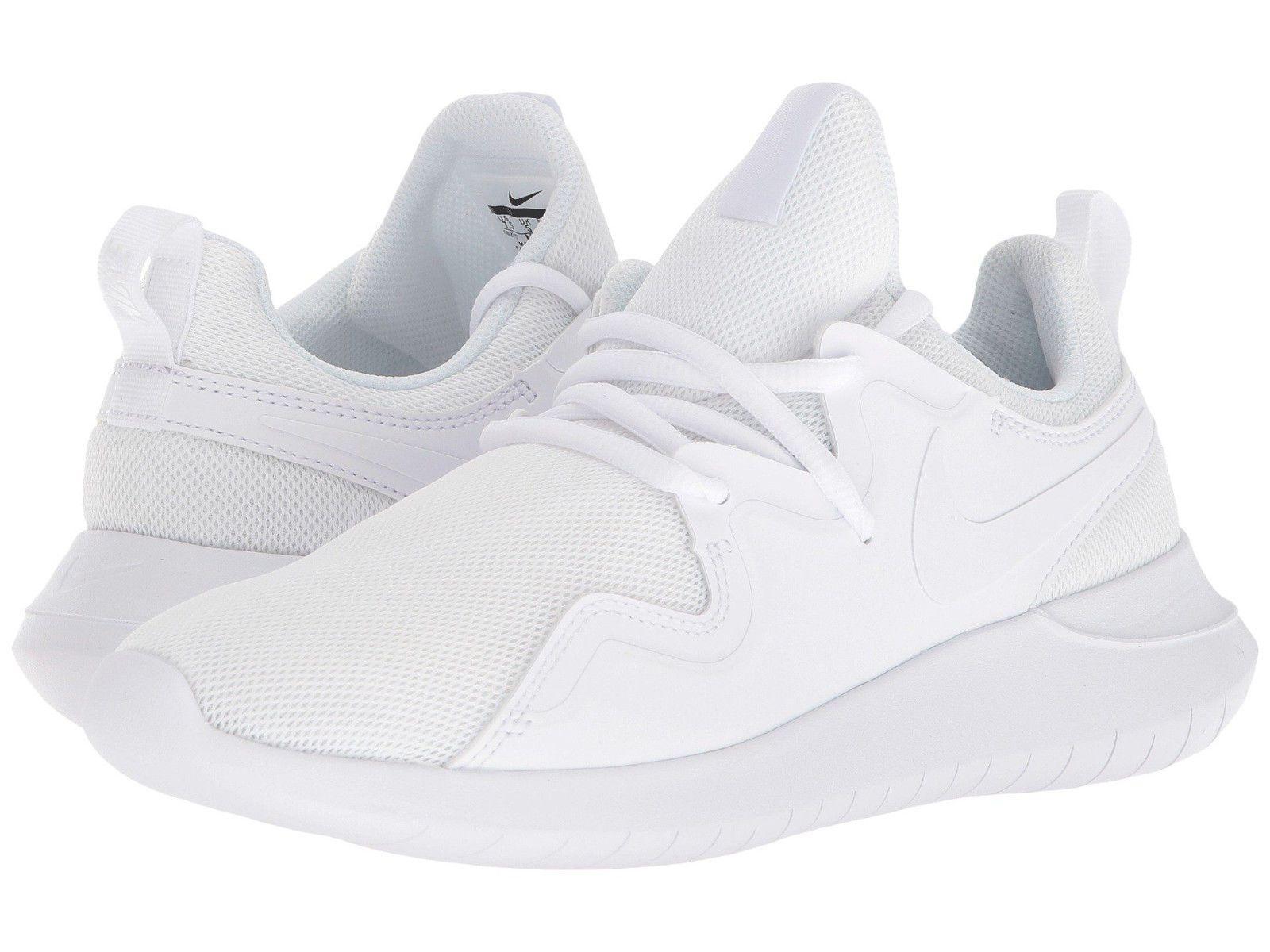 Nike TESSEN Womens White AA2172 100 Lightweight Athletic Running Training  Shoes  44.76  womens  nike 0740936ba