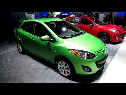 2013 Mazda 2 Touring - Exterior and Interior Walkaround - 2013 Detroit A...