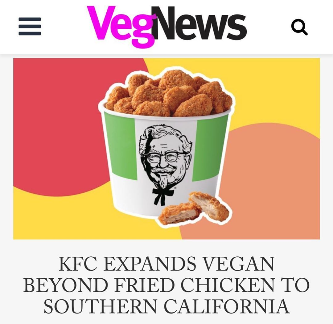 Vegnews On Instagram The Chicken Chain Is Expanding Its Test Market With A Limited Sneak Peek Of Vegan Chicken At More Than In 2020 Dog Food Recipes Vegan Vegan News