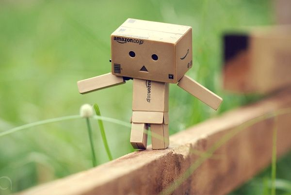 Cute Amazon Cardboard Box Amazon Box Robot Pinterest Danbo Box Robot Amazon Box