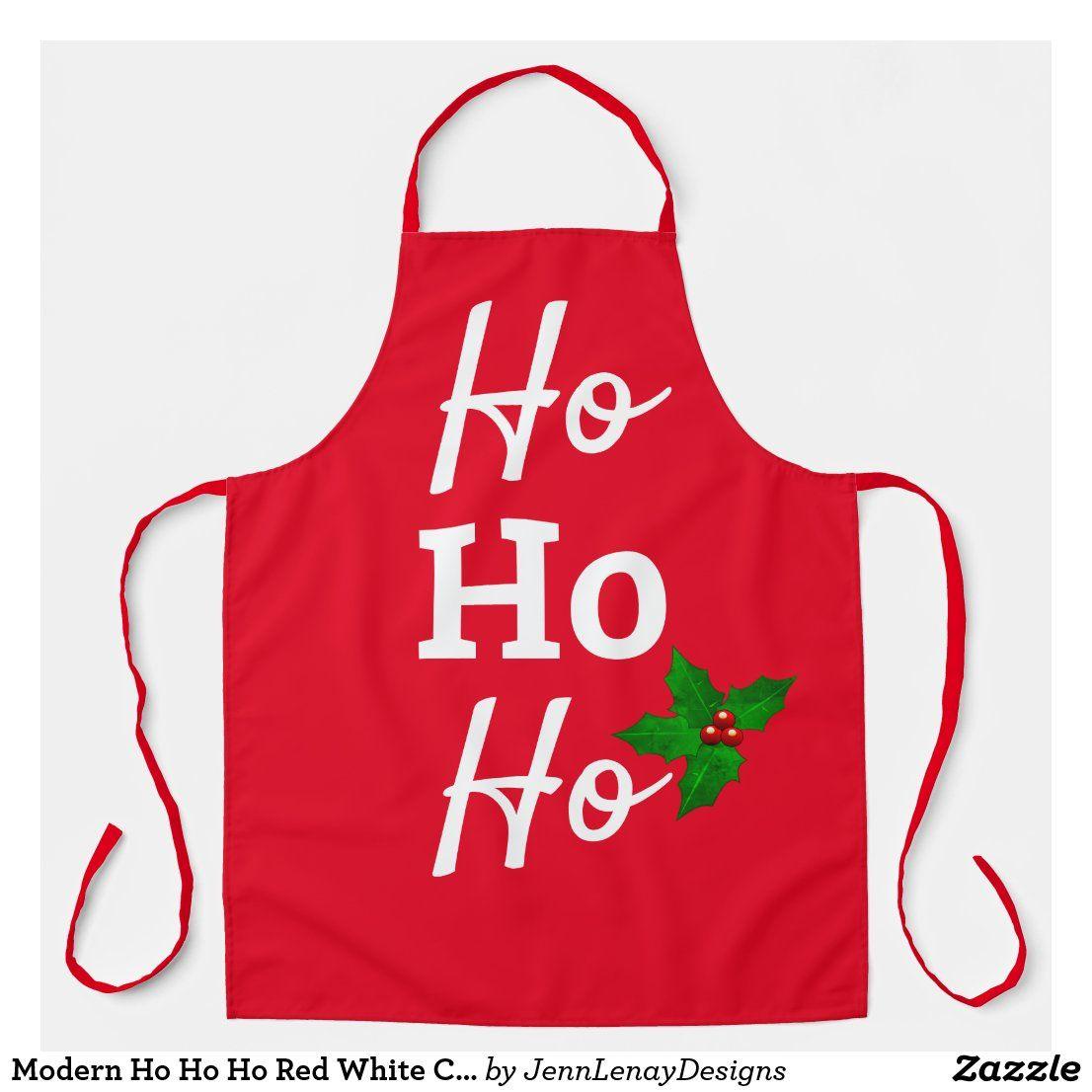 HoHoHo Christmas Apron