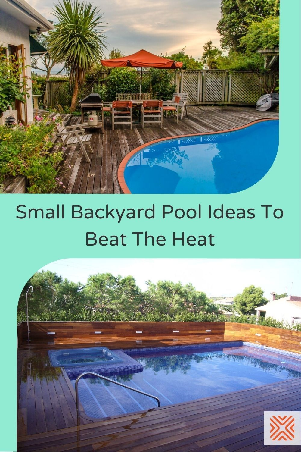 If you're stuck with a small backyard, and you've always wanted a nice swimming pool, we've got just the solution for you! These swimming pool design ideas for small yards have proven that you don't need a large backyard to build a pool, check them out.