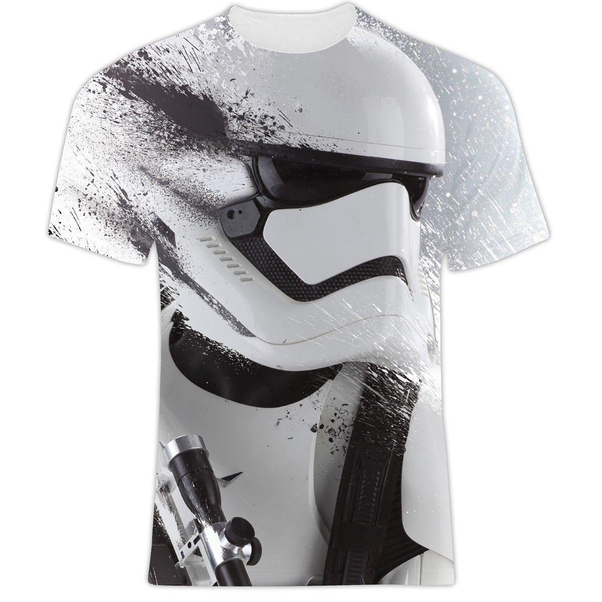 Star Wars First Order Stormtrooper All Over Style Print Front View Star Wars Wallpaper