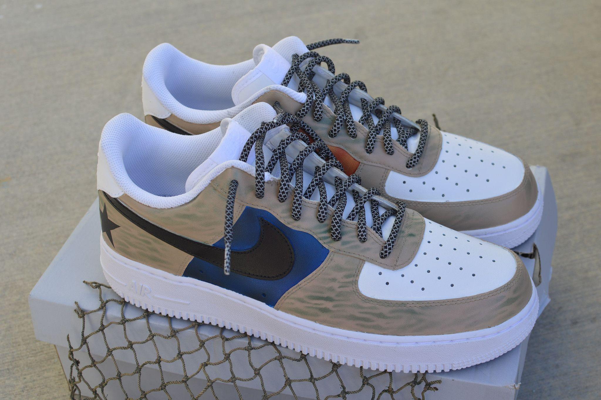 """Nike Air Force 1 Bespoke – """"The Gift"""" By 21 Mercer"""