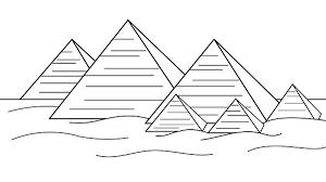 Egyptian Art For Kids Google Search Piramides Do Egito