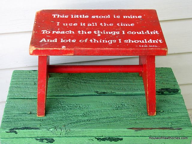Awesome Step Stool This Little Stool Is Mine I Use It All The Time Gmtry Best Dining Table And Chair Ideas Images Gmtryco