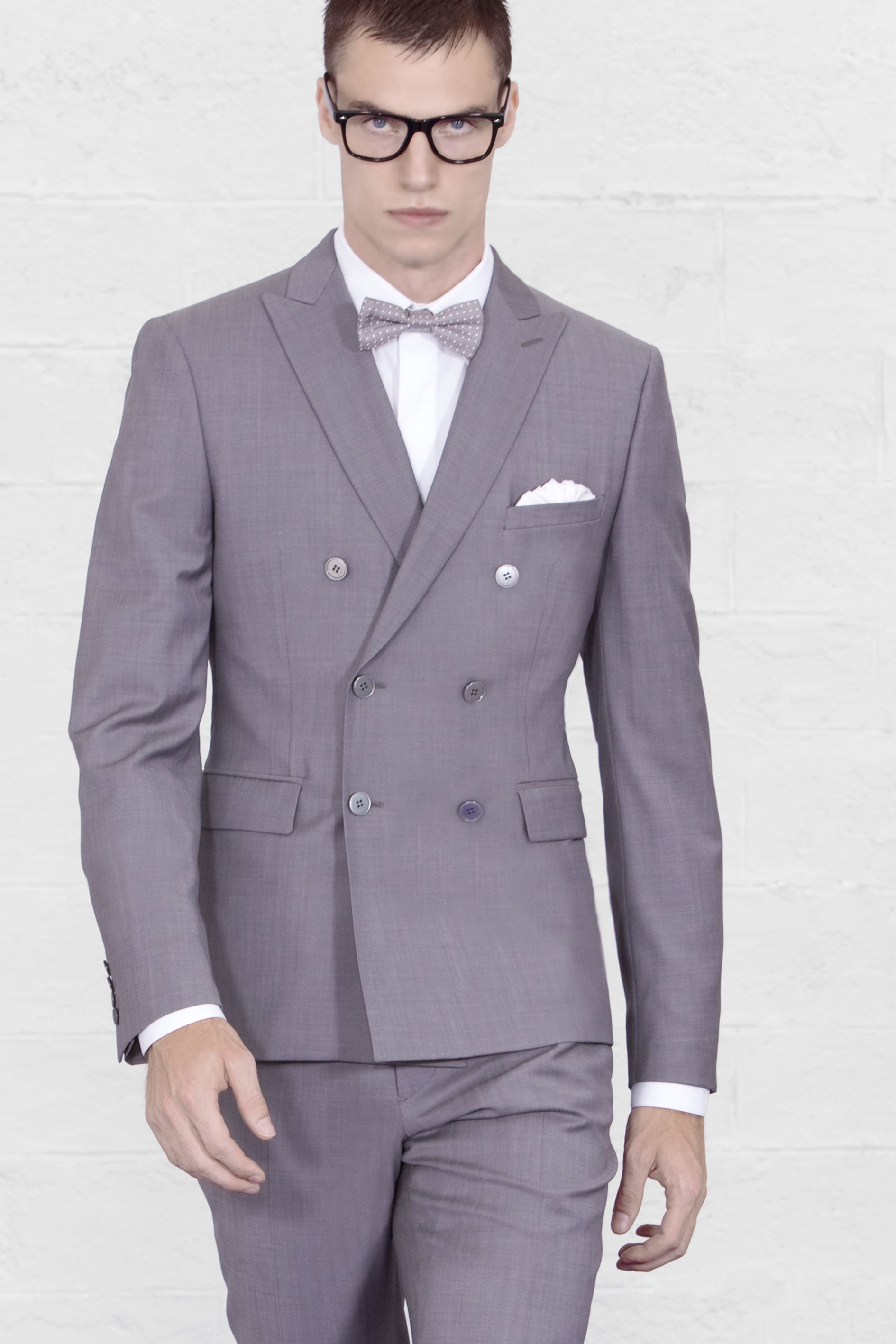A very special Louis Purple double breasted #suit. Fitted and ...