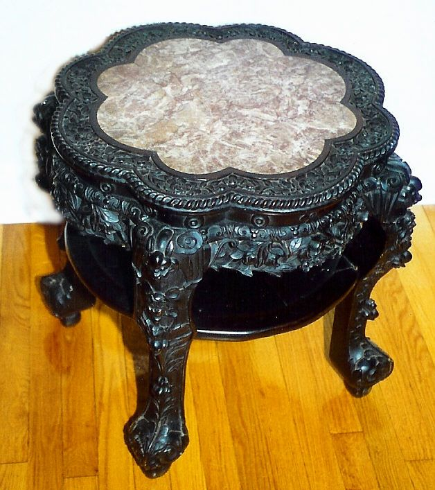 Asian Antiques | Chinese Furniture Antique Carved Chinese Rosewood Table  This Chinese .
