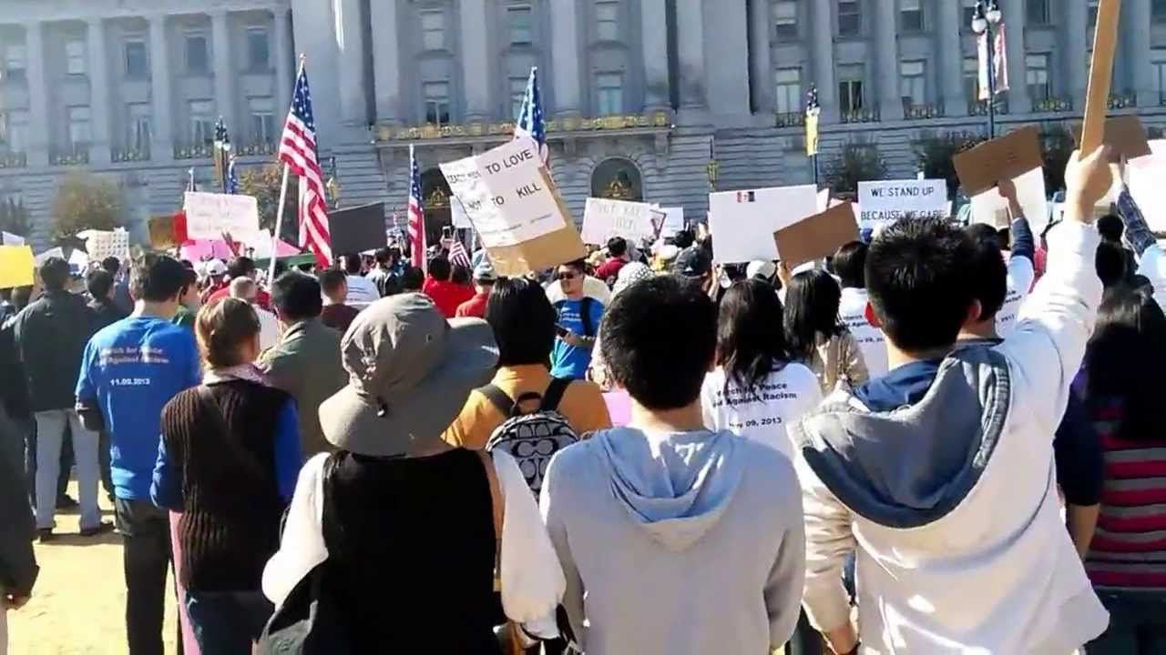 Speech Given By Chinese Protesters Sf Civiccenter 20131109 1231pm Jimmykimmel Chinese American Jimmy Kimmel United We Stand