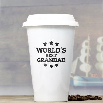personalised ceramic travel mug