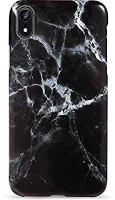 iPhone XR Case,LUMARKE Cute Geometric Grey