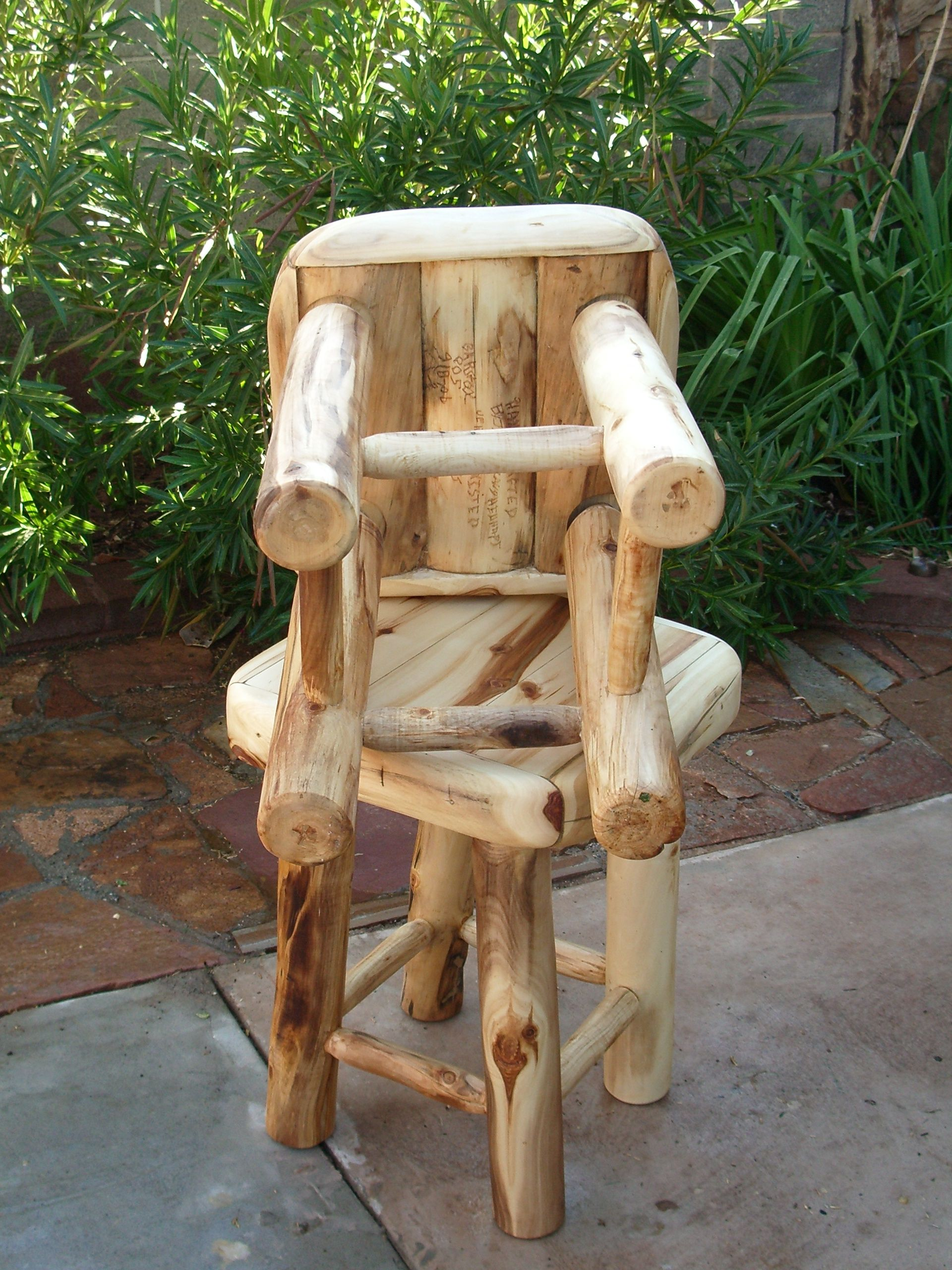 Stuhl Sessel Aspen Underneath Aspen Half Log Bar Stools For You Pinterest Bänke
