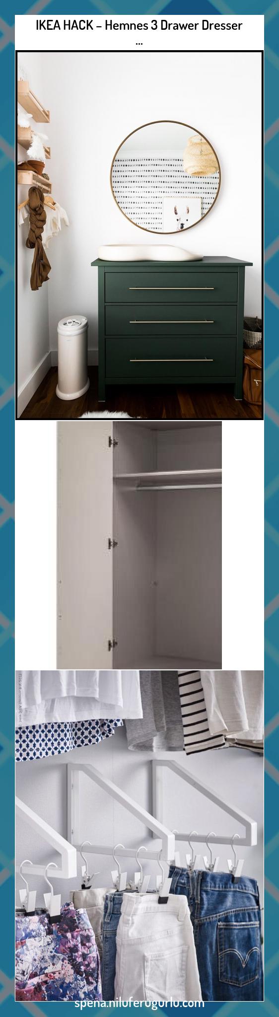 IKEA HACK - Hemnes 3 Drawer Dresser nel 2020