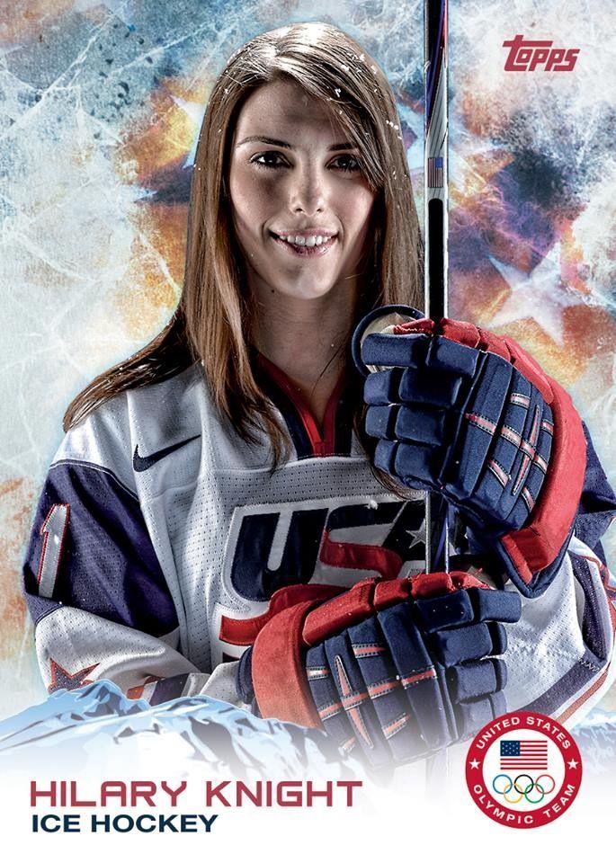 Hilary Knight | Olympics Sochi 2014 | Pinterest | Knight ... Hilary Knight