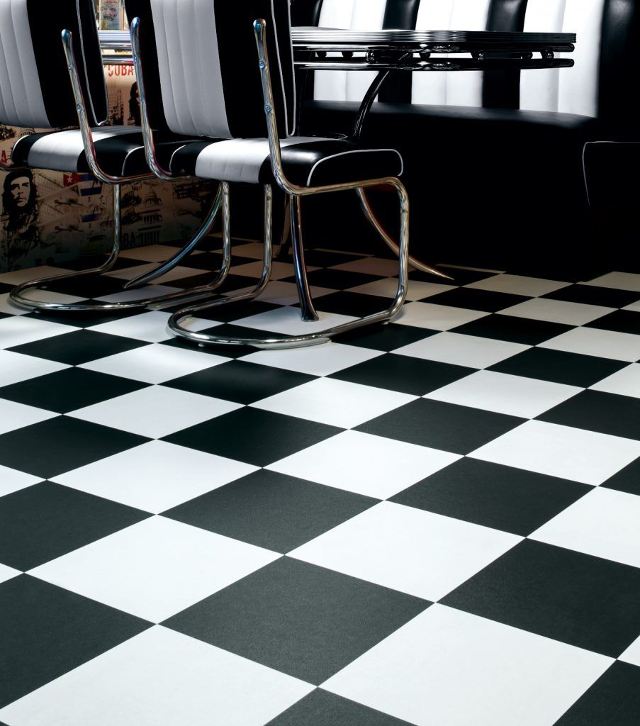Vinyl Flooring Checkerboard Floors Pinterest Woods And Kitchens