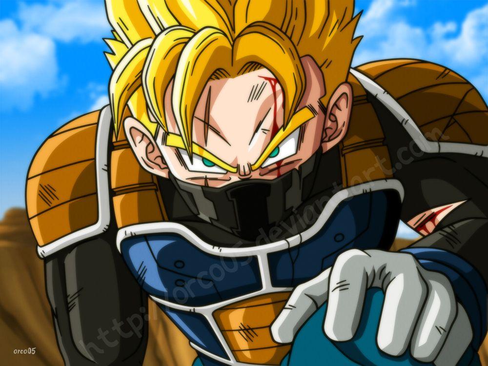 Jinzo Ssj Battle Damaged By Orco05 On Deviantart Dragon Ball Artwork Dragon Ball Art Anime Dragon Ball Super