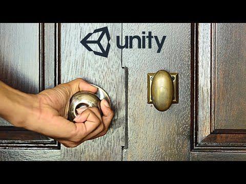 Cómo abrir y cerrar una puerta en Unity 5 - YouTube