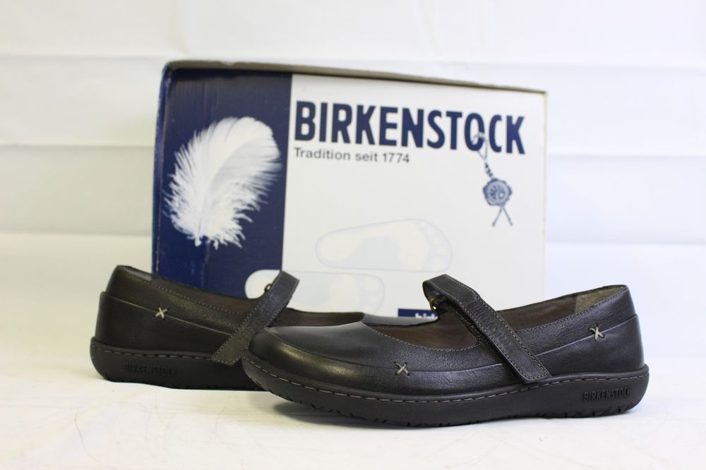 3d3f3ed8bc Birkenstock Iona Women s Maryjane Shoes Black Leather   38-7