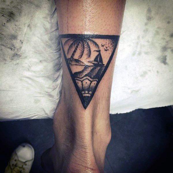 Top 87 Triangle Tattoo Ideas 2020 Inspiration Guide Triangle Tattoo Tattoos Tattoo Designs Men