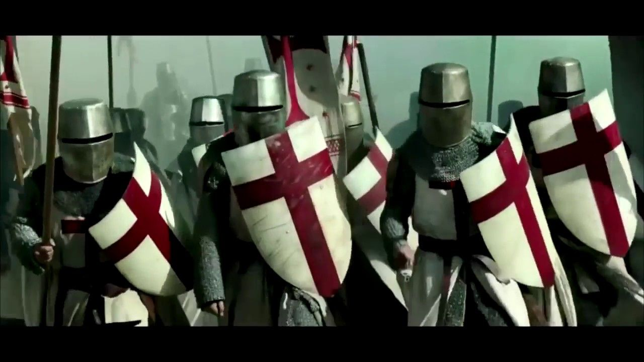 knightfall season 1 official trailer 2017 new history channel series s science fiction. Black Bedroom Furniture Sets. Home Design Ideas