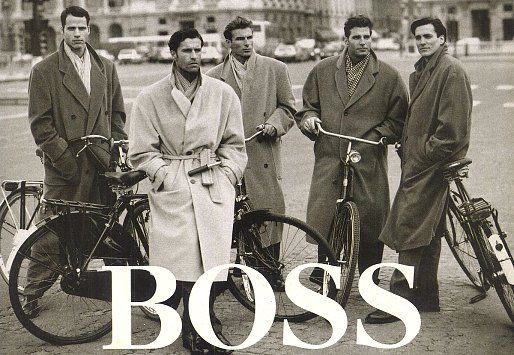 Hugo Boss - 1992 Fall/Winter - Database & Blog about classic and stylish male imagery
