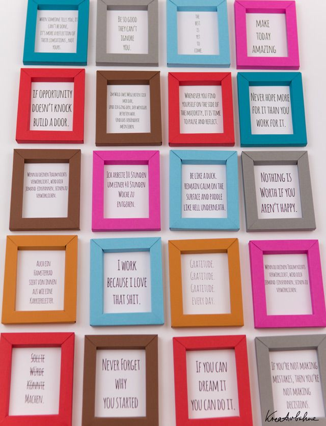 Diy Paper Frames Via Kreativbuhne With Free Printable Pattern