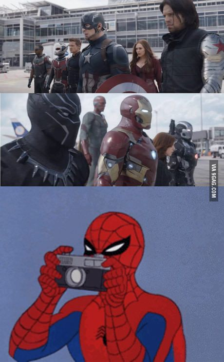 For all of you asking where the hell is spidey