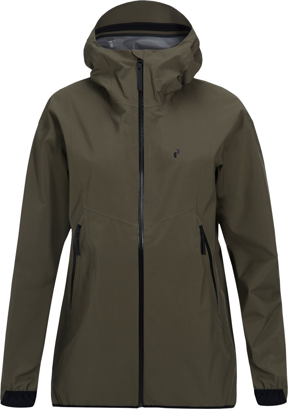 Peak Performance Prime Jacket Dame Terrain Green Jackets