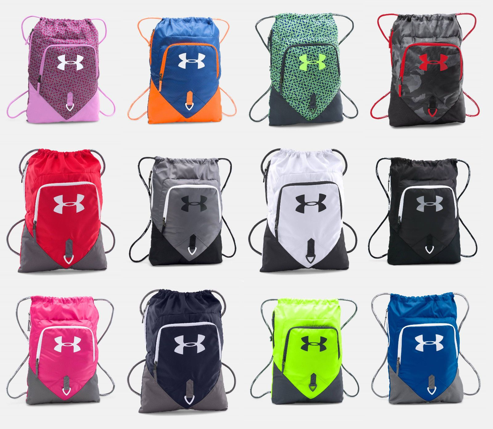 Under Armour Undeniable Sackpack UA Drawstring Backpack Sack Pack Sport Gym  Bag eb690f8409