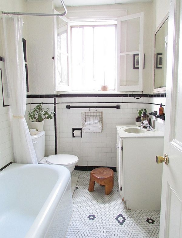 Tile N Decor Black And White Bathrooms Design Ideas Decor And Accessories