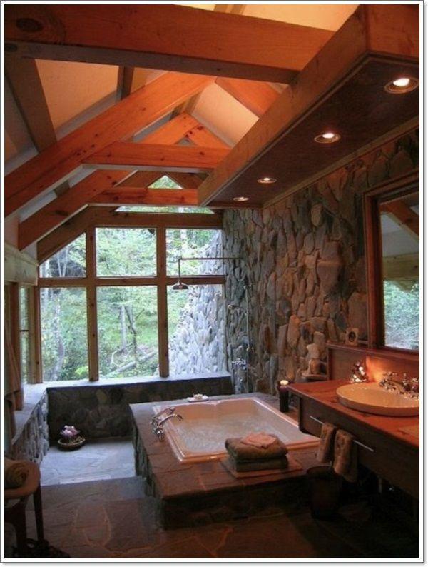 42 Ideen für das Perfekte Rustikale Badezimmer Design #rusticbathroomdesigns