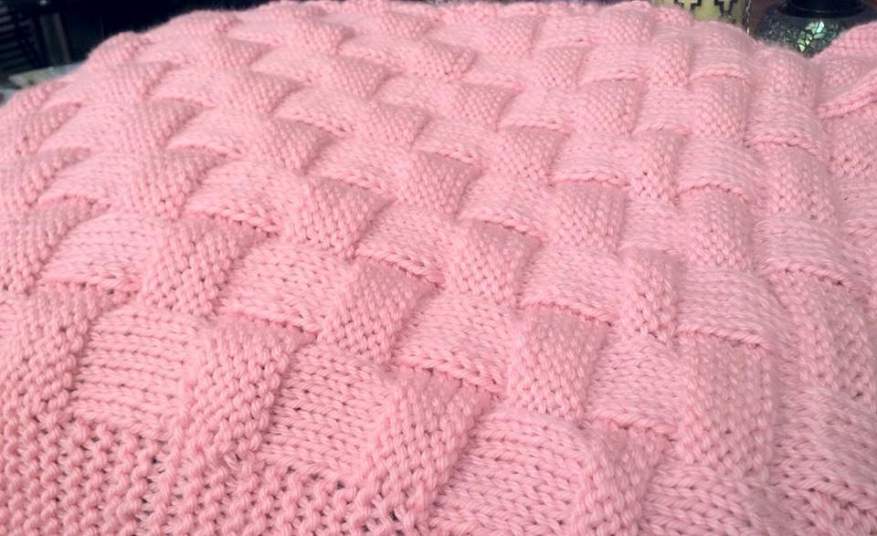 Realistic Basket Weave Pattern - Knit | Knit patterns, Patterns and ...