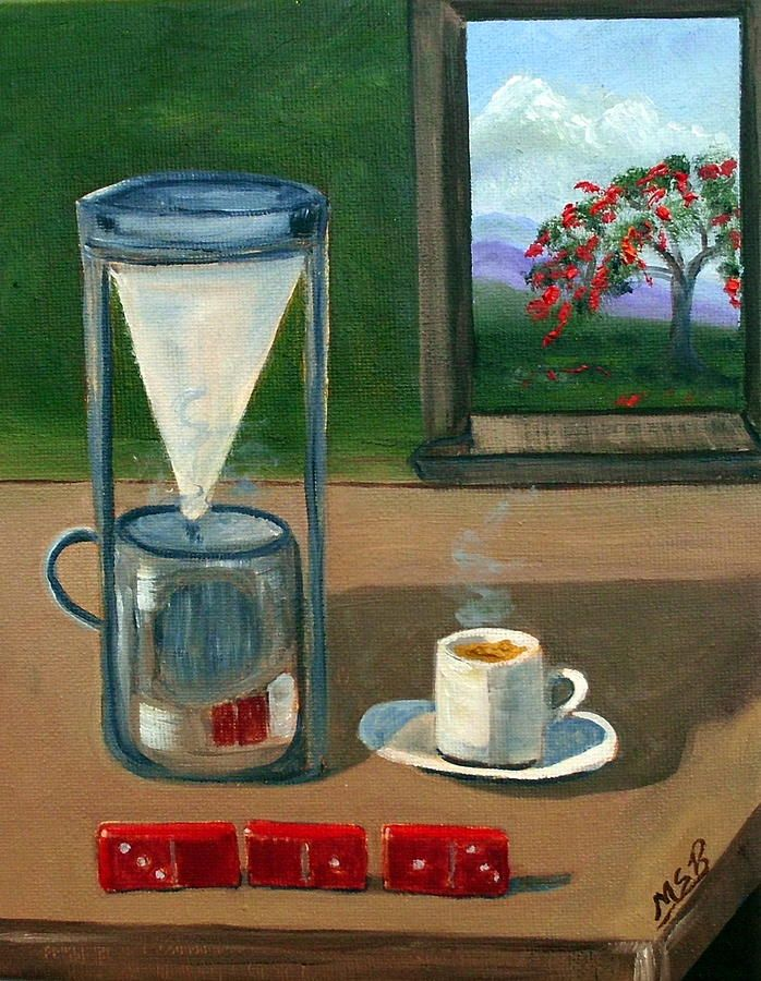 Cuban Coffee Dominos and Royal Poinciana | Poster Art | Pinterest ...