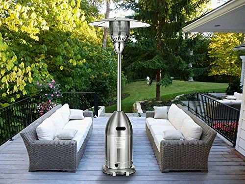 Outdoor Heaters Magic Union Standing Patio Heater Propane Powered Pulse Ignition Stainless Steel You Can Get Ad Patio Wooden Decks Outdoor Interior Design