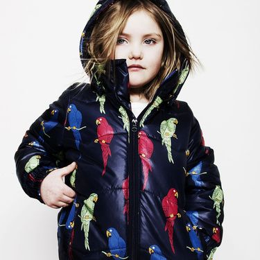 love the mini rodini parrot puffa jacket
