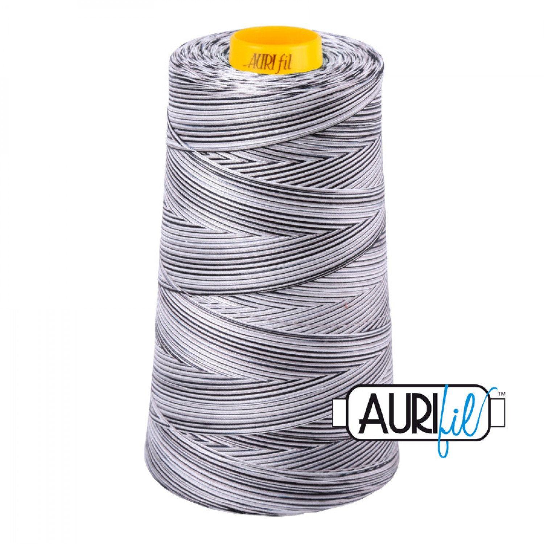 Aurifil Thread - 50wt Creme Brulee Variegated Cone 4150