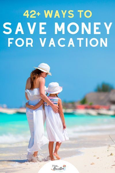 These practical tips will help you save hundreds towards your next family vacation. Plan ahead and save money for vacation using these 42+ ideas for cutting back your budget in small and big ways. Travel planning is within your budget when you use these tips! #Travel #FamilyTravel #TravelwithKids #TravelPlanning #BudgetVacation #SavingMoney