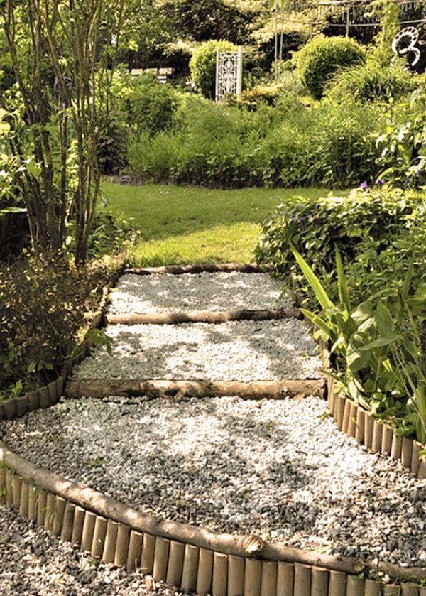 Allée de jardin : Quelle bordure choisir ? | Bordure de jardin ...