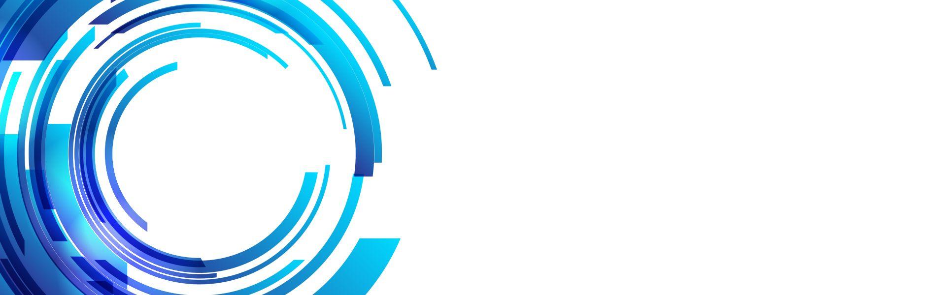 Tech Blue Circles Abstract Background Fundo Para Banner Panos De Fundo Estampa Para Canecas