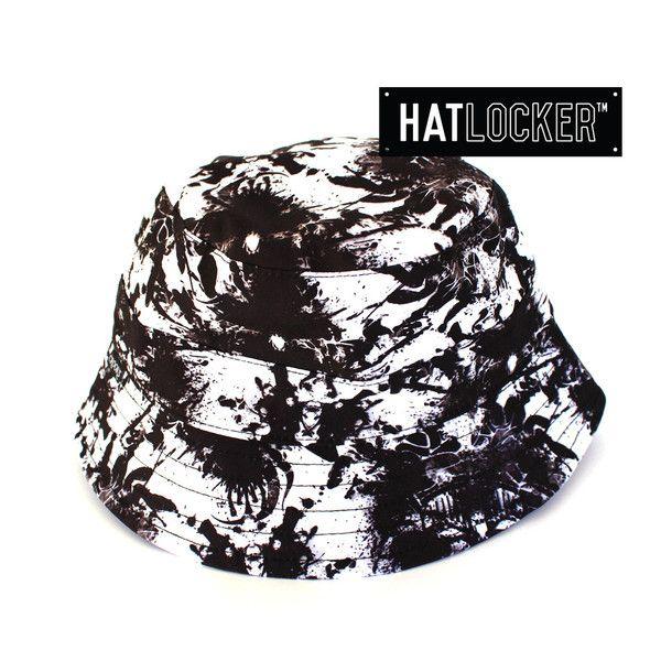 Medusa Rorschach Bucket Hat by Crooks   Castles  a35c5f42f1b6
