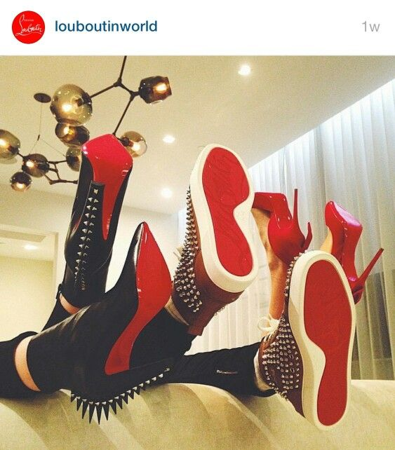 Loubis red red red sole....