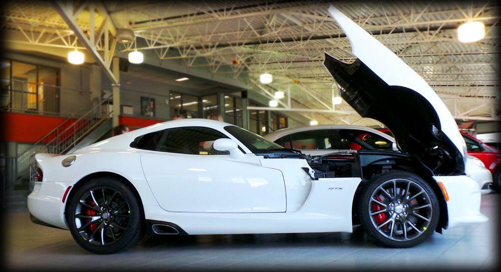 Sold Bright White Srt Viper Dodge Viper Viper Gts Fiat Cars