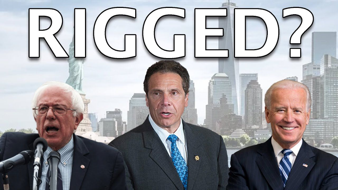 Explained How Ny Governor Andrew Cuomo Is Quietly Rigging The 2020 Prim Andrew Cuomo Presidential Race Joe Biden