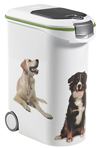 Curver Petlife Dog Food Container 20 Kg 54 Litre Capacity Pet