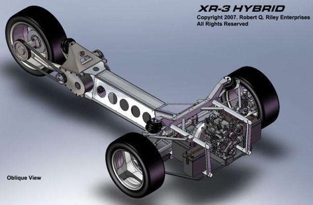 KENDİN YAP HİBRİT 1 Litre / 100 Km (XR3 Diy Hybrid) –