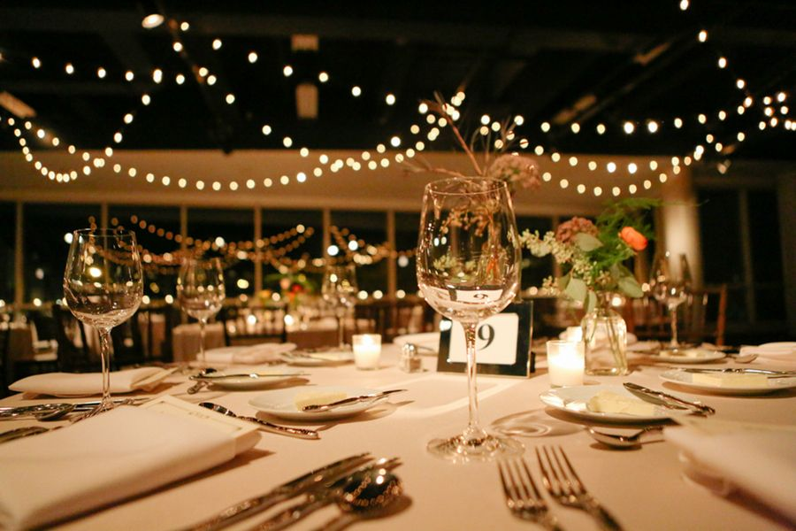 Laura And Max S Indoor Wedding Reception Photo By T Hara Weddings At The Nature Museum Pinterest Receptions